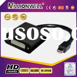 mini displayport female dvi male