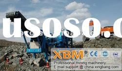 mobile crushing and screening plant with reasonable price[factory direct sale]