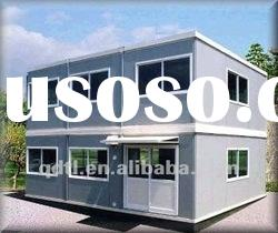 mobile double storey prefabricated standard container house for living