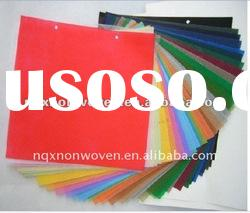 non woven and color of 100% pp non woven fabric