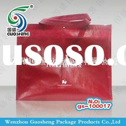 non woven handle bag with zipper of bathrobes bag
