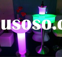 outdoor furniture table/cooler bar table/glow furniture/LED cooler bar