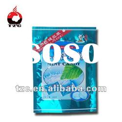 plastic bag with zipper for food packing