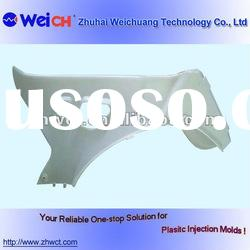 plastic injection cover mould, injection molded cover components