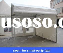 pop up span 4m small party tent (white small marquee party tents)