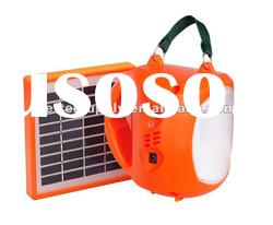 portable solar light solar camping light with mobile phone charger function (BS-L044)