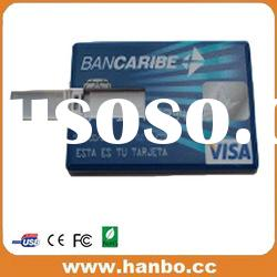 promotional 4GB credit card usb flash drive