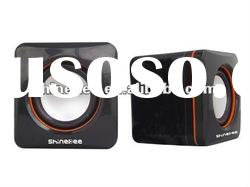 protable mini louder speakers with laptop player(084)