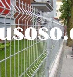 pvc coated wire mesh fence used for house(ISO9001&CE certificate)