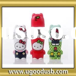 pvc hello kitty shape flash usb drive