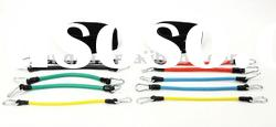 resistance bands package latex bands set