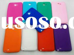 silicone gel cell phone case for Samsung Galaxy Note I9220/N7000