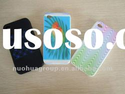 silicone mobile phone cases, silicone skin,custom 4 colors process logo
