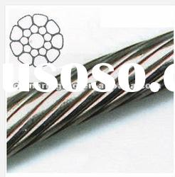stainless steel 1x19 wire rope ss304 and ss316