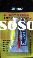 super EPOXY STEEL glue adhesive