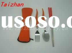 unique stainless steel cutlery with plastic handle