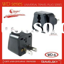 universal travel adapter/ travel plug adapter/250v to 110v plug adapter travel to UK-WD-6