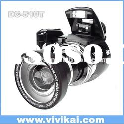 "vivikai professional wide angle lens digital camera with 12mp and 2.4"" (DC-510T)"