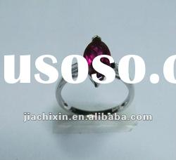 wholesale 925 sterling silver gemstone cute ring