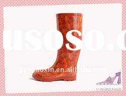 women's fashion rain boots(960-SY309)