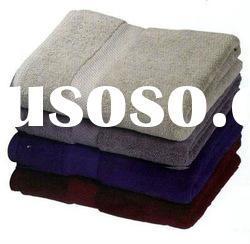100% cotton towels bath with border
