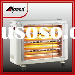 2000W Quick Heat Far Infrared Quartz Heater with Streamline Design