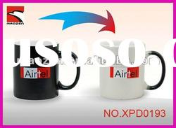 2012 Ceramic whole color changing mug/cup