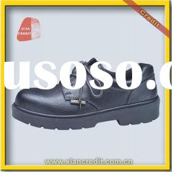 2012 Fast selling cow leather steel toe shoe with CE in Brazil market
