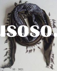 2012 Spring Lace triangle Scarf(SE-3021)