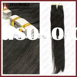 2012 Tape hair weft hair extensions on sales