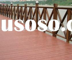2012 Water proof from plastic and natural feeling WPC (Wood Plastic Composite) Outdoor Decking