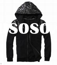 2012 Wholesale men's Hoody Men's designer Jacket Hoodies Outwear Coat