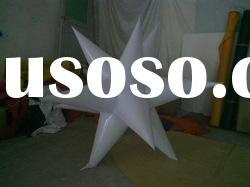 2012 best welcome inflatable led light event stage decoration / lighting star