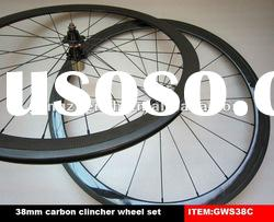 2012 best wheels,full carbon fiber clincher wheels GWS38C