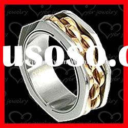 2012 fashion 316L stainless steel ring