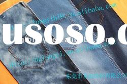 2012 fashion cotton denim fabric for jeans spandex denim fabric