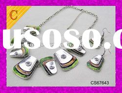 2012 fashion jewelry sets,New hot sell fashion jewelry sets,high end handmade jewelry sets