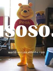 2012 funny Winnie the Pooh animal Costume,cartoon costume