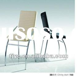 2012 new morden metal and PU chair for dining roon/dining room furniture