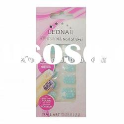 2012 newest 3D Gem/Diamond polish Nail Sticker