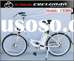 2012 newest city electric bicycle with 36V/20Ah li-ion battery, 140km range per charge