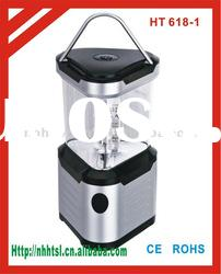24 LED outdoor lighting camping lantern/lamp 4 x D dry battery with compass