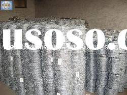2.0mm Hot dipped galvanized barbed wire