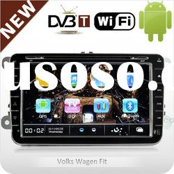 2 din in-dash android car DVD with WIFI / 3G / DVB-T