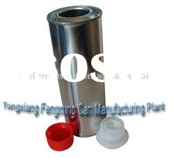 300ML CLEARING AGENT CAN,OIL CAN, PVC CAN (PLASTIC CAP,SCREW TOP)