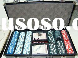 300pcs poker chip set|ABS poker chip set|casino chip set