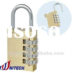 30mm Resettable security door lock with master key