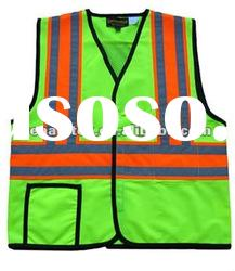 3M Reflective Tape HI VIS Safety Vest With Pocket