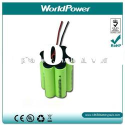 3P2S 18650 Li ion Rechargeable Battery Pack