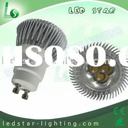 3W(3*1W) GU10 led spotlight AC110V/220V Cabinet and under counter lighting(CE & ROHS) LS-CS-02A